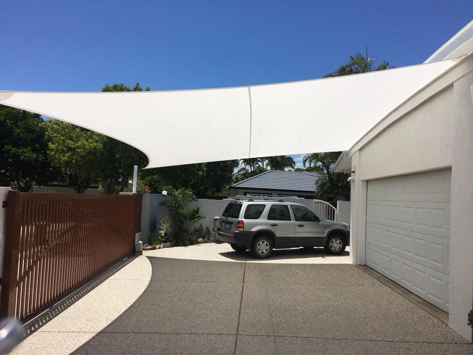 Driveway Shade Sail Z16
