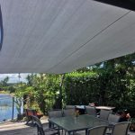 Outdoor Dining Shade Sail