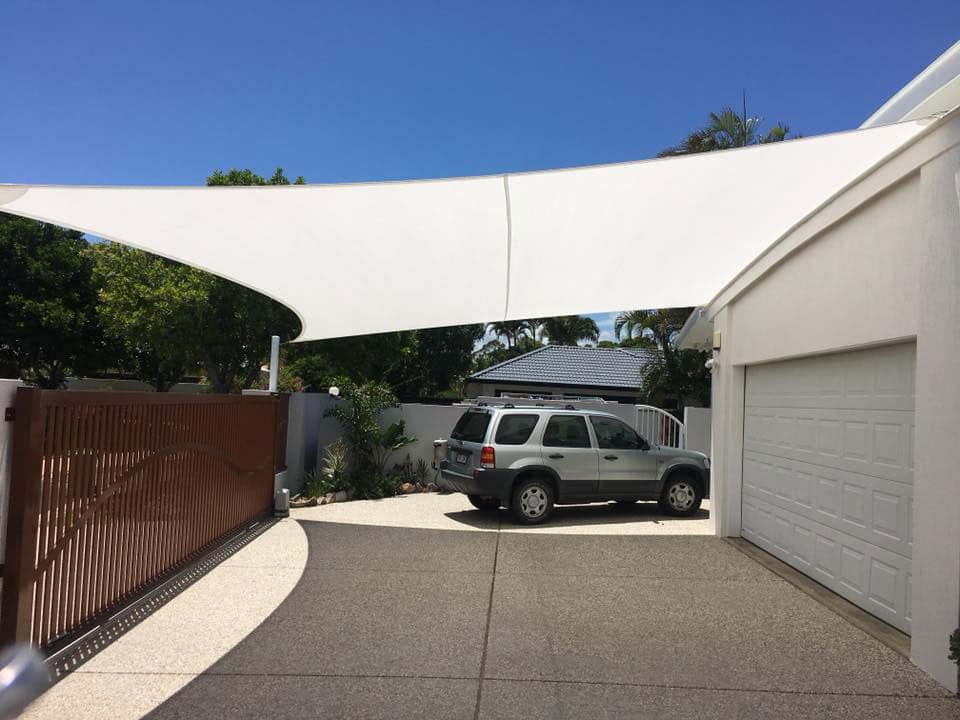 Carport Shade Sail