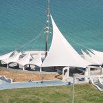 Verseidag TXA-750F Beach-side Canopy Roofing Structure