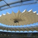 Verseidag TXA-900F in retractable stadium roofing structure