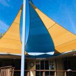 Multiple Shade Sail Installation - Sunshine Coast Shade Sails