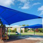 Playground Hipped Shade Structure - Sunshine Coast Shade Sails