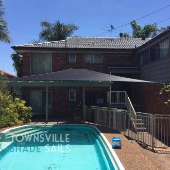 Pool Area Shade Sail - Townsville Shade Sails
