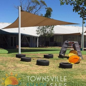 Daycare Shade Sail - Townsville Shade Sails